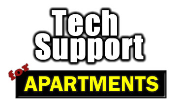tech support for apartments and management companies